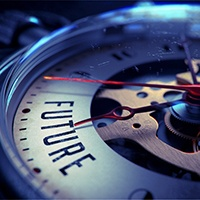 Future on Pocket Watch Face with Close View of Watch Mechanism. Time Concept. Vintage Effect_200px.jpeg